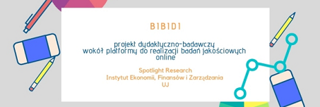 Projekt BiBiDi - Spotlight Research i IEFiZ UJ