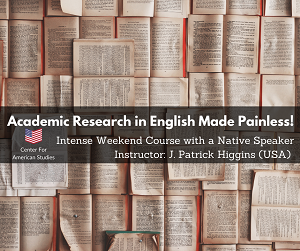 Academic Research in English Made Painless!