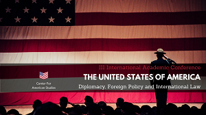 The United States of America: Diplomacy, Foreign Policy and International Law,
